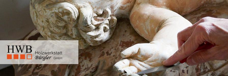 Sakrale Figuren restaurieren